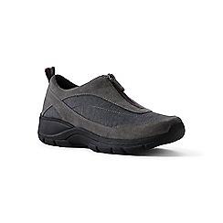 Lands' End - Grey regular all-weather zip-front shoes