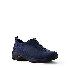 Lands' End - Blue regular all-weather zip-front shoes
