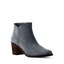 Lands' End - Grey regular suede ankle boots