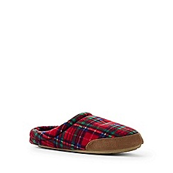 Lands' End - Multi fleece slippers