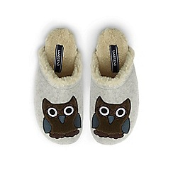 Lands' End - Grey cute clog slippers