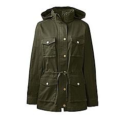 Lands' End - Green regular military style jacket