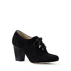 Lands' End - Black regular block heel oxford shoes
