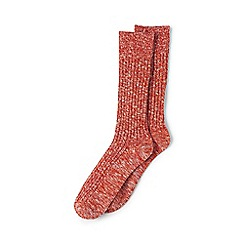 Lands' End - Red chunky boot socks