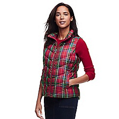 Lands' End - Multi down patterned gilet