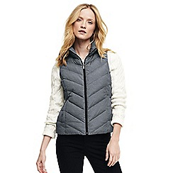 Lands' End - Grey down patterned gilet