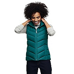 Lands' End - Dark turquoise down gilet