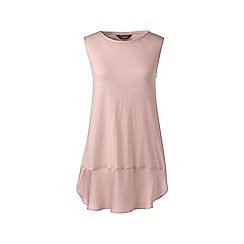Lands' End - Pink soft leisure sleevesless viscose tunic