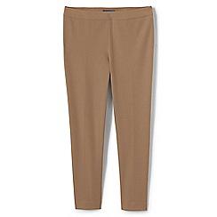 Lands' End - Beige slim leg stretch trousers
