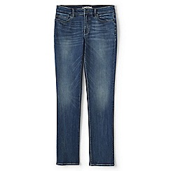 Lands' End - Blue true-straight jeans