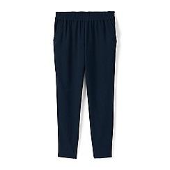 Lands' End - Blue crepe easy jogger trousers