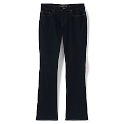 Lands' End - Blue demi bootcut jeans