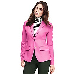 Lands' End - Pink tailored blazer