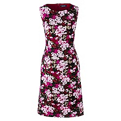Lands' End - Multi pattern sleeveless ponte jersey dress