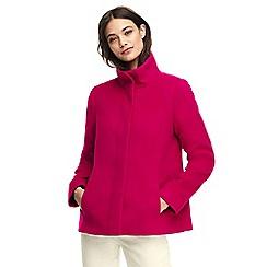 Lands' End - Pink stand collar jacket