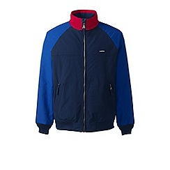 Lands' End - Blue colourblock classic squall jacket