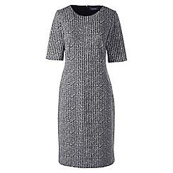 Lands' End - Multi pattern ponte jersey shift dress