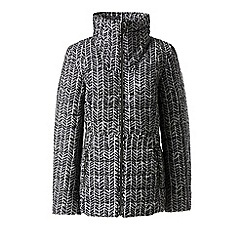 Lands' End - Multi funnel neck primaloft patterned packable jacket