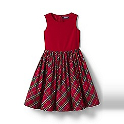 Lands' End - Girls' multi taffeta party dress