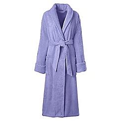 Lands' End - Purple luxury terry robe