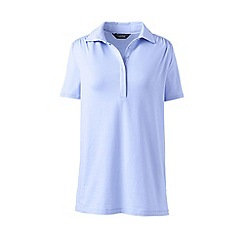 Lands' End - Blue polo tunic