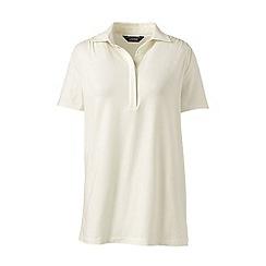 Lands' End - Cream polo tunic