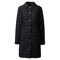 Lands' End - Black primaloft coat