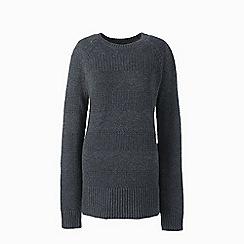 Lands' End - Grey  lofty cotton tunic jumper