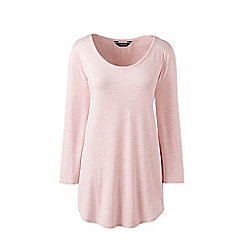 Lands' End - Pink pleated back tunic