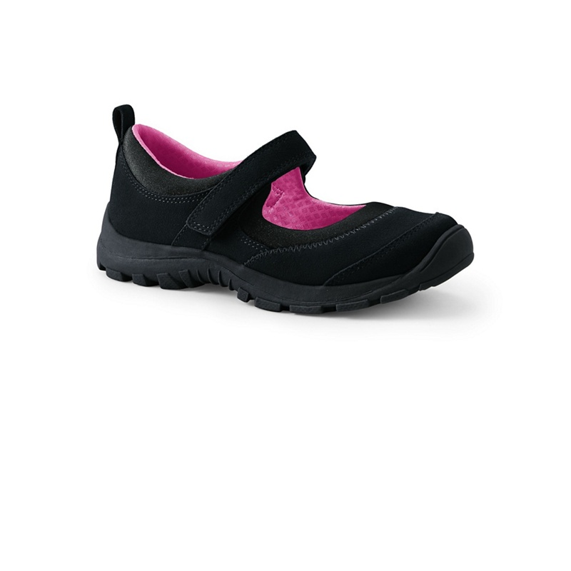 LANDS' END | Lands' End - Black Everyday Mary Jane Shoes | Goxip
