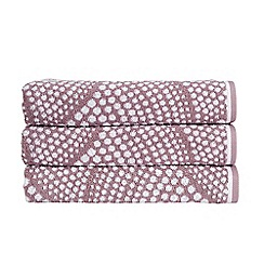 Christy - Elderberry 'Savoy' 500gsm cotton towel