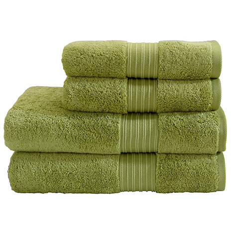 Christy - Green tea supreme towels