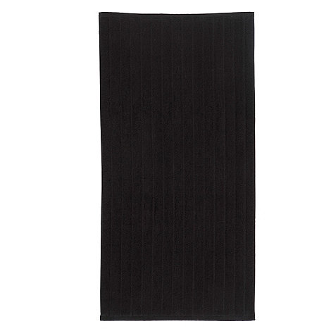 Christy - Black +Christy+ bath mat