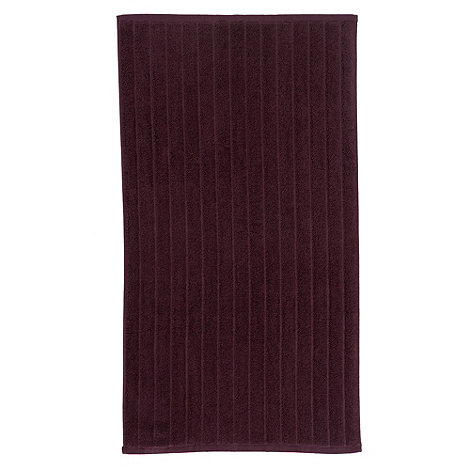 Christy - Plum +Christy+ bath mat