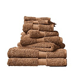 Christy - Sandalwood 'Ren 04' towels