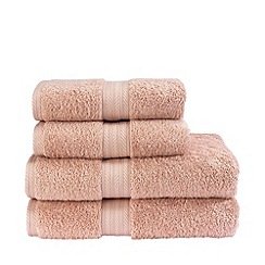 Christy - Pale Rose 'Ren04' towels