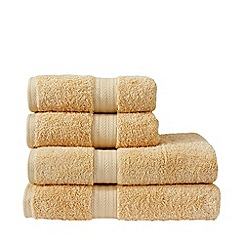 Christy - Yellow 'Ren 04' towels