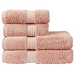 Christy - Pink 'Ren 04' towels