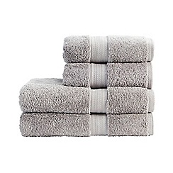 Christy - Dove Grey 'Ren 04' Towel