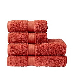 Christy - Orange 'Ren 04' towels