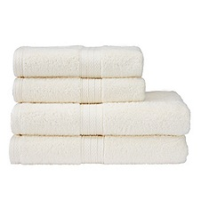 Christy - Cream 'Georgia' towels
