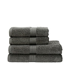 Christy - Charcoal 'Georgia' towels
