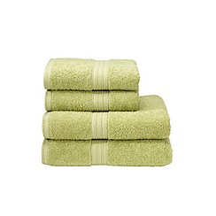 Christy - Pistachio 'Georgia' towels