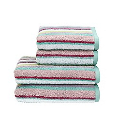 Christy - Multi 'Georgia Strip' towels