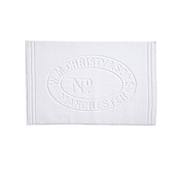 Christy - White 'Heritage Mat' Towel