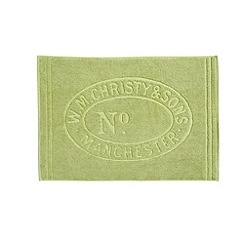 Christy - Green Tea 'Heritage Mat' Towel