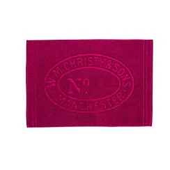 Christy - Raspberry 'Heritage Mat' Towel