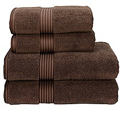 Christy - Cocoa 'Supreme' towels
