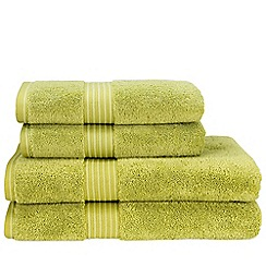 Christy - Green Tea 'Supreme' towels