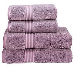 Christy - Damson 'Supreme' towels
